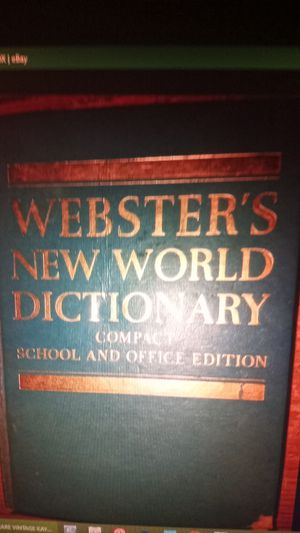 Webster's new world dictionary 1967 for Sale in Oshkosh, WI