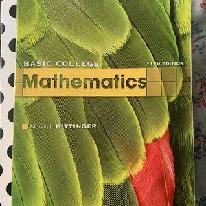 Basic college mathematics 11th Edition for Sale in Oakland, CA
