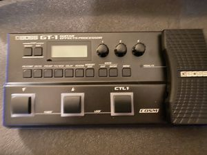 Boss GT-1 pedalboard for Sale in Nazareth, PA