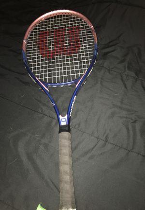 Wilson Titanium tennis racket for Sale in Manteca, CA