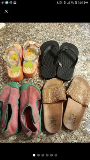 Size 11/12 Toddler Girls Sandals Bundle for Sale in Pomona, CA