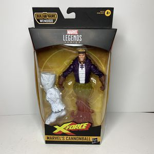 NEW Marvel Legends Series X-Force Cannonball Action Figure Toy Comics Movie for Sale in Trenton, NJ
