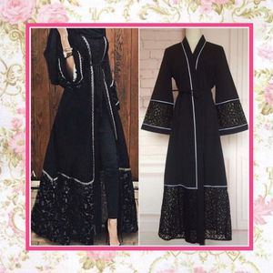 BLACK ROBE CARDIGAN DUSTER MAXI LONG BOHO CHIC BOHEMIAN KAFTAN WICCAN MAGIC COSTUME HALLOWEEN LACE BELT SHEER ENDS GYPSY HIPPIE TRIBAL WITCH VAMPIRE for Sale in Las Vegas, NV