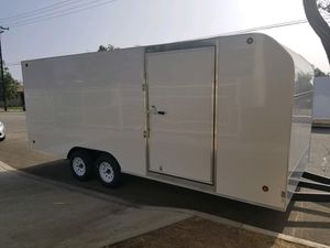 8 1/2 x 20 x 7 Enclosed Trailer Free Delivery for Sale in Los Angeles, CA