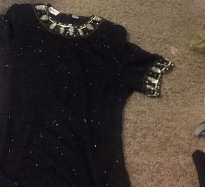 Cute size medium vintage sequin dress could be cute Halloween costume for Sale in Bettendorf, IA
