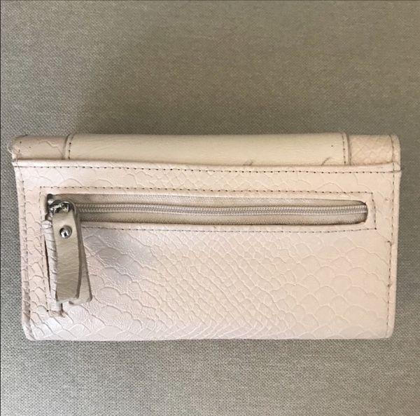 Small Cream/Leopard print wallet