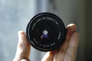 Canon 50mm f/1.8 FD film lens for Sale in Brooklyn, NY