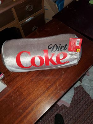 Diet coke pillow for Sale in Groveport, OH