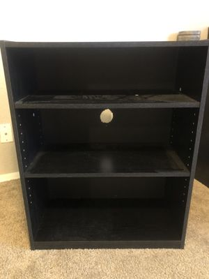 Black shelf/ tv stand for Sale in Glendale, AZ