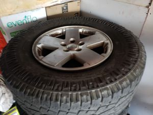 Jeep jk wheels & tires for Sale in San Diego, CA