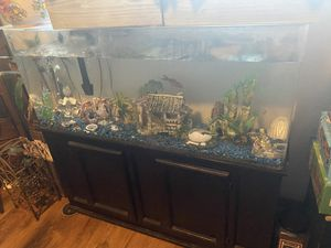 75 gallon fish tank (acrylic) for Sale in Marina, CA