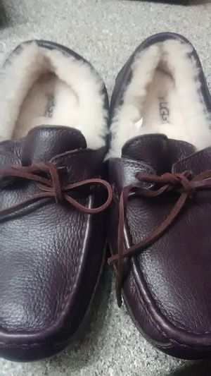 Leather Ugg Slippers for Sale in Houston, TX