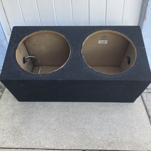 Car speaker box for Sale in West Palm Beach, FL