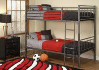 Full/Full bunk bed with mattresses included for Sale in Las Vegas, NV
