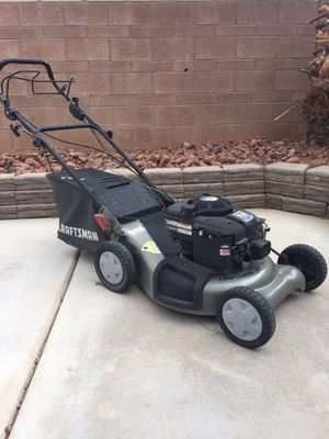Great Briggs and Stratton 6.5 horsepower craftsman, rear wheel drive LAWN Mower. for Sale in North Las Vegas, NV