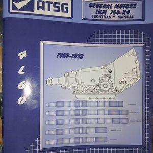 700r4 Service Manual for Sale in Ocean Shores, WA