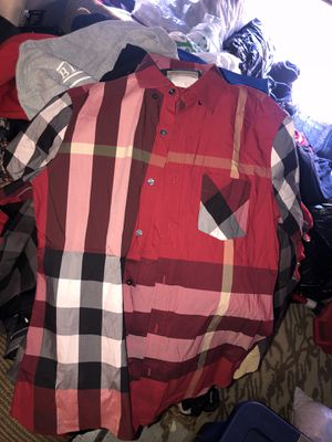 Burberry mens large for Sale in Fremont, CA