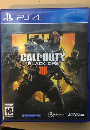 Call of Duty: Black Ops 4 for Sale in Washington, DC