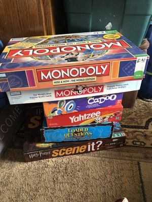 Board games for Sale in Gladstone, OR