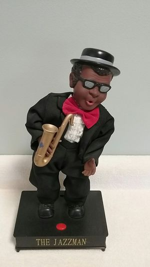 THE JAZZMAN sounds great, sax not original for Sale in Pinconning, MI