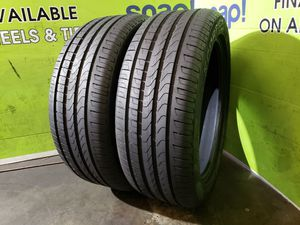 Two 255/45/20 *HIGH TREAD* PIRELLI SCORPION VERDE A/S, FREE MOUNT AND BALANCE!! for Sale in Tampa, FL