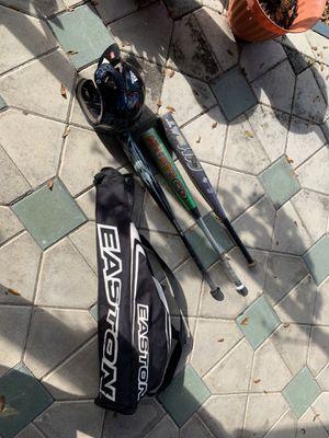 Baseball equipment(Easton bag and bats,Adidas batting helmet) for Sale in Seffner, FL