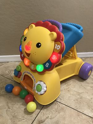 Fisher Price 3 in 1 Sit, Stride, and Ride Lion for Sale in Glendale, AZ