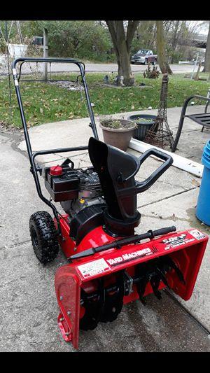 "Yard-Machines 22"" Inch 5 HP 2-Stage Self Propelled Snowblower for Sale in Aurora, IL"