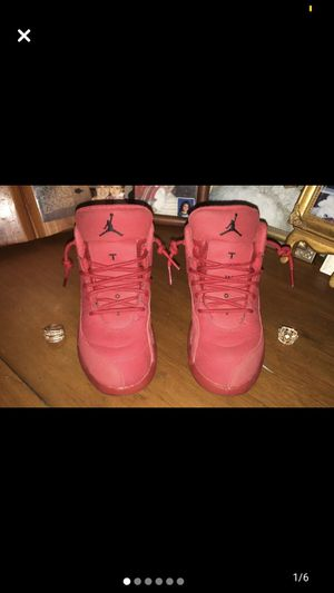 Jordan retro 12s gym red ....Good condition ... Worn once . for Sale in Avondale, PA