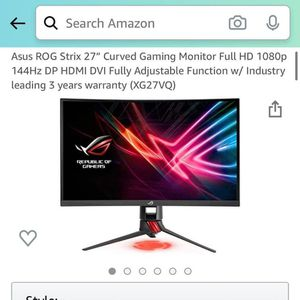 ROG Gaming Screen for Sale in Chino Hills, CA