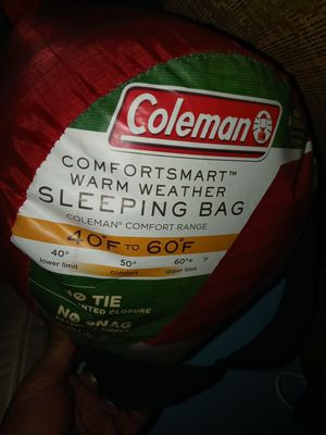 Coleman sleeping bag for Sale in Midland, TX