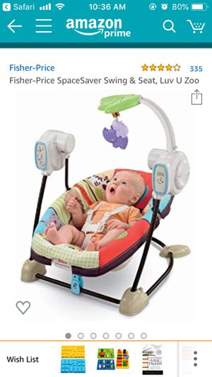 Baby swing for Sale in Arlington, VA