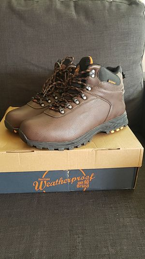 New brown work boots size 10 men for Sale in Seattle, WA