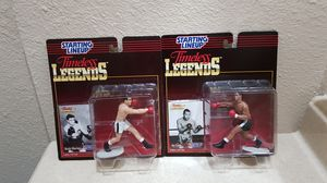 Starting lineup timeless legends Rocky Marciano and Joe Louis for Sale in San Marcos, CA
