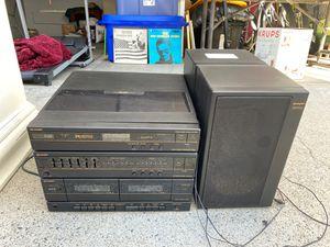 Turntable, double cassette, EQ, Am/Fm radio !! for Sale in Newport Beach, CA