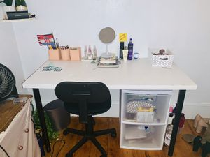 White desk for Sale in Boston, MA