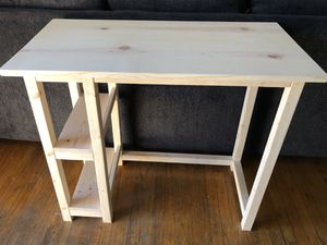 Brand New Sanded Handmade Wooden Desk! for Sale in Whittier, CA