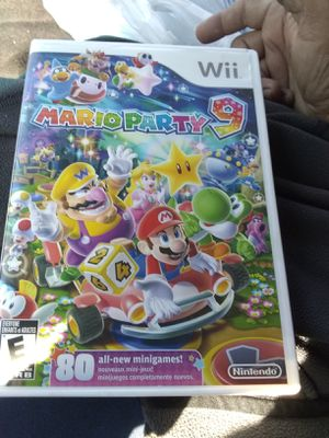 Wii Mario party 9 game $30 for Sale in Escondido, CA