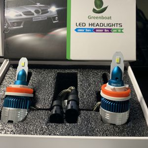 Super Bright White LED Headlight Bulbs Fog Lights Headlight Solutions H1 H4 H7 H8 H9 H11 H13 H16 Full Sizes Available for Sale in Hacienda Heights, CA