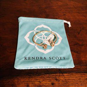 Kendra Scott Edie Rose Gold Cuff Bracelet In Rose Gold Drusy NWT for Sale in Grand Prairie, TX