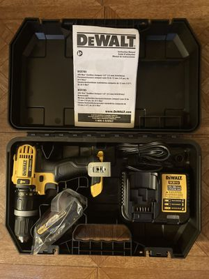 "DeWalt. 20V MAX Lithium Ion 2-Speed 1/2"" Cordless Hammer Drill Driver Kit. DCD785. for Sale in Brooklyn, NY"
