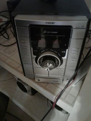 Stereo radio Iowa 5.1 speakers what power cord and wires for Sale in Grosse Pointe, MI