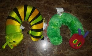 2 caterpillar neck pillows for Sale in Hawthorne, CA