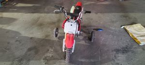 Set of training wheels for a dirt bike for Sale in Burrillville, RI