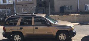 Chevy trailblazer 02 for Sale in Philadelphia, PA