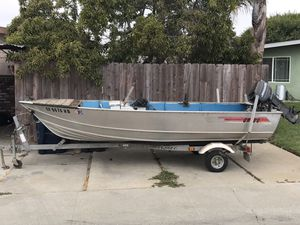 14ft Aluminum boat for Sale in Watsonville, CA