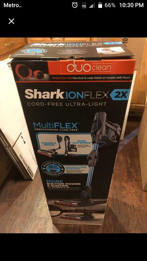 Shark Ion Flex Duo Vacuum for Sale in Riverside, CA