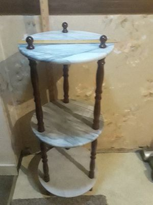 Marble 3 level vintage stand for Sale in Pittsburgh, PA