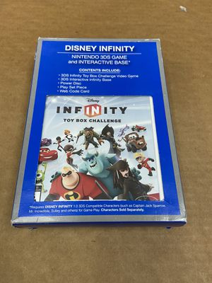 Disney Infinity Toy Box Challenge (Nintendo 3DS + Interactive Base) Brand New for Sale in Elk Grove, CA