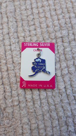 Alaska Vintage Sterling Silver Charm for Sale in Chandler, AZ